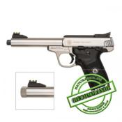 "S&W - PISTOLET - CAT B - VICTORY - FILETE - 22 LR - INOX - 11 CP - 5.5"" - 777624"