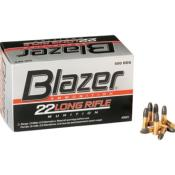 CCI - MUNITION - CAT C - 22LR - BLAZER - 40 GR - 62100142 - X500