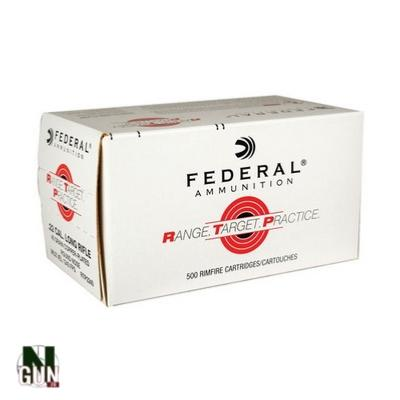 FEDERAL - MUNITION - CAT C - 22LR - RTP - COPP. PLATED - 40 GR - 62100133 - X500