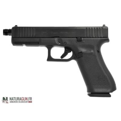 GLOCK - PISTOLET - CAT B - 17 GEN 5 - 9MM - BLACK - FS - MOS - FILETE - 47545
