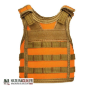NATURAGUN® - GOODIES - GILET PARE BALLE DECO - BOUTEILLE BIERE - ORANGE