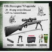 REMINGTON - CARABINE - 783 PACK BROCARD - 30-06 - TELEMETRE - BIPIED - AP. - NET
