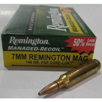 REMINGTON - MUNITION - CAT C - 7MM REM M. - 140G - CL - RECUL R. - RL7MM4 - X20