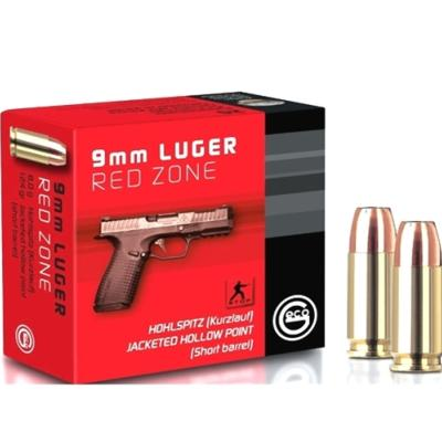 GECO - MUNITION - CAT B - 9MM - 124GR - RED ZONE - JHP - PM - 2402932 - X20