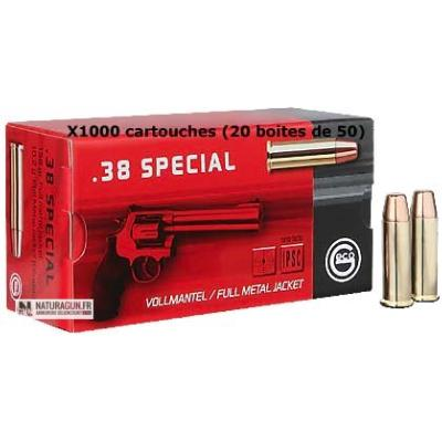 GECO - MUNITION - CAT B - 38 SPECIAL - 158 GR - FMJ FLAT NOISE - 2317716 - X1000