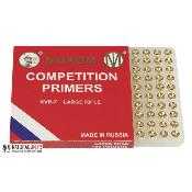MUROM - AMORCES - COMPETITION PRIMERS - LARGE RIFLE - LR - KVB-7 - R6115 - X100