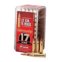 HORNADY - MUNITION - CAT C - 17 HMR - 17GR - V-MAX - 83170 - 773620 - X50