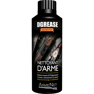 ARMENET - ENTRETIEN - DGREASE - 250ML - MADE IN FRANCE - ARM0001