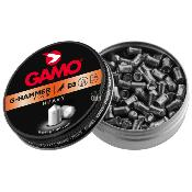 GAMO - MUNITION - CAT D - PLOMBS - 4.5MM - HAMMER - LOURD 1G - G3310 - X200