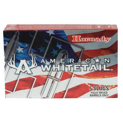 "HORNADY - MUNITION - CAT C - 12 GA SLUG 2 3/4"" - 325GR - INTERLOCK - 780211 - X5"