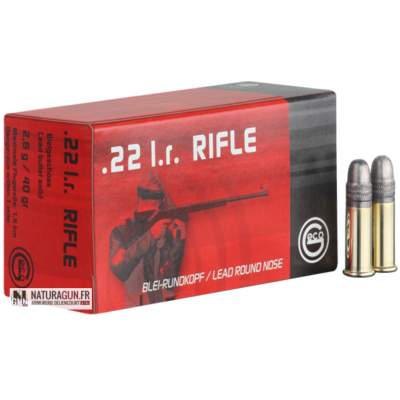 GECO - MUNITION - CAT C - RIFLE - 22LR - 2132540 - X50