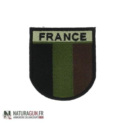 NATURAGUN® - ECUSSON - FRANCE - MILITAIRE - PATCH - NIGHT VISIBILITE - BRODE