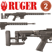 "RUGER - CARABINE - CAT C - PRECISION RIFLE TACTICAL - RPR - 308 - 24"" - 32502141"