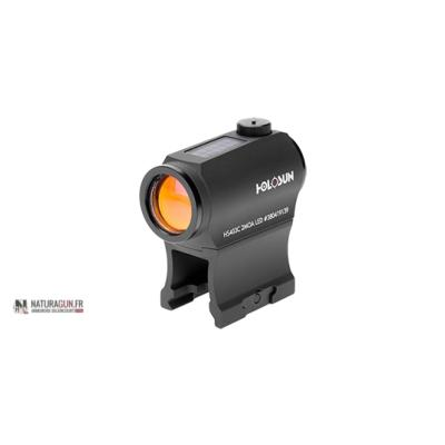 HOLOSUN - POINT ROUGE - MICRO SIGHTS DOT - PANNEAU SOLAIRE - HHS403C