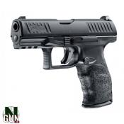 "WALTHER - PISTOLET - CAT B - PPQ M2 - 9MM - 15 CPS - BLACK - 4"" - 2813785"