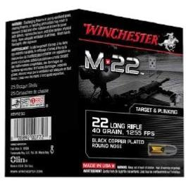 WINCHESTER - MUNITION - CAT C - M22 - 22LR - VRAC - CS22LRTE - X400