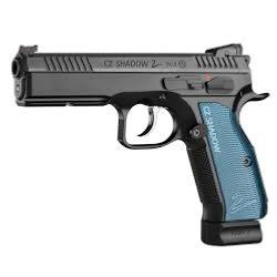 CZ - PISTOLET - PLOMB - CAT D - SHADOW 2 - BLUE - BB'S 4.5 - CO2 - METAL - 19485