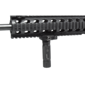 "UTG - POIGNEE METALE - TAILLE 3.6"" - RAIL PICATINNY - 21MM- SUBCOMPACT"