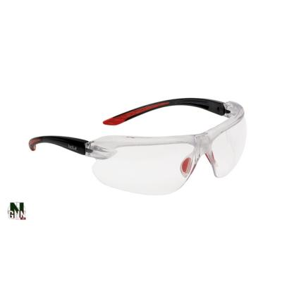 BOLLE - LUNETTE PROTECTION - SAFETY IRI-S - INCOLORE - RED - CORDON - BOLRUSHPSI