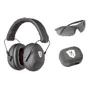 BROWNING - CASQUE - PASSIF - KIT TACTICAL - LUNETTE - BOITE BOUCHON - 126374
