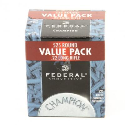 FEDERAL - MUNITION - 22LR - 36 GR - HP CHAMPION - H. VELOCITY - 62100170 - X525