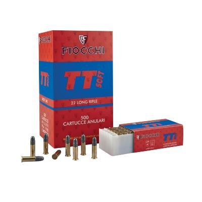 FIOCCHI - MUNITION - CAT C - 22 LR - TT SOFT - 40 GR - X50