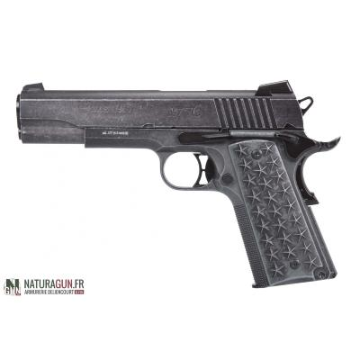 SIG SAUER - PISTOLET - BB'S - CAT D - 1911 - WE THE PEOPLE - 4.5 - CO2 - ACP552