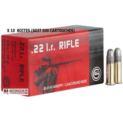 GECO - MUNITION - CAT C - RIFLE - 22LR - 2132540 - X500