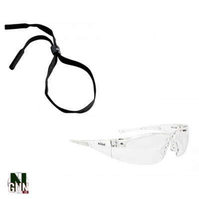 BOLLE - LUNETTE PROTECTION - SAFETY RUSH - INCOLORE - CORDON - BOLBL10CI