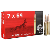 GECO - MUNITION - CAT C - 7X64 - 165 GR - SP - TEILMANTEL- X20