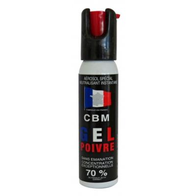 CBM - BOMBE DEFENSE - CAT D - GEL RED PEPPER - CAPOT CLAPET - 25ML - 11301