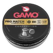 GAMO - MUNITION - CAT D - PLOMBS - 4.5MM - PRO MATCH - LISSE - G3150 - X500