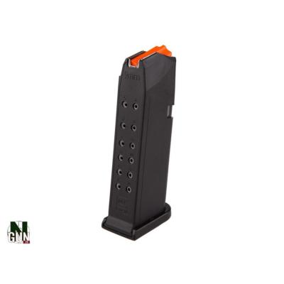 GLOCK - CHARGEUR - CAT B - GLOCK 19 - 15 CPS - BLACK - ORANGE - 1594 - 1084