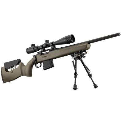 MOSSBERG - CARABINE - PACK MVP LR BOLT ACTION - 308 WIN + LUN 4X16-44 + BIPIED